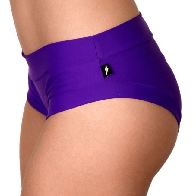 Essential Hot Pants in Purple Passion