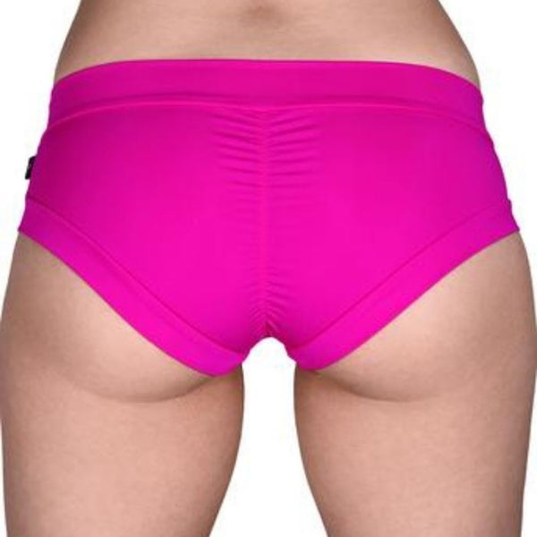 Essential Hot Pants in Flamingo Pink