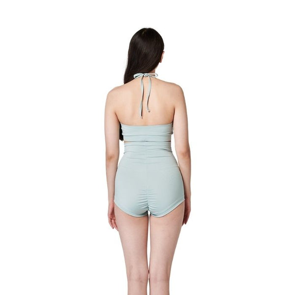 Deep Soft Shorts in Mint