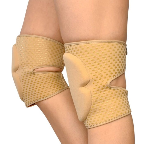 Sticky Silicone Knee Pads in Nude