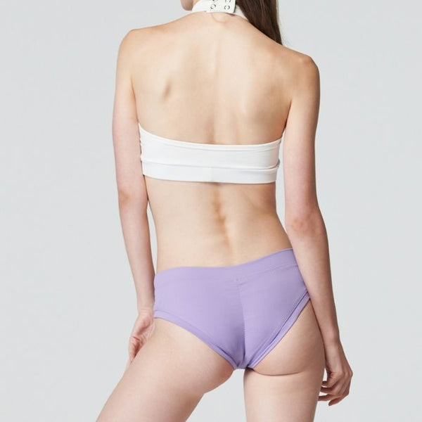 Daily Shirring Shorts in Purple Rose
