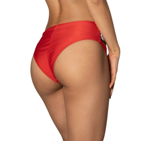 Hustle Bottom in Red