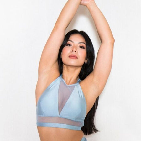 Isla Top in Ice Blue