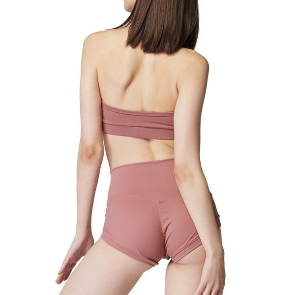 Essential Halter Top in Marsala