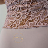 Lavender Marvel-Lace Top