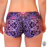 Glowing Mandala Competition Shorts