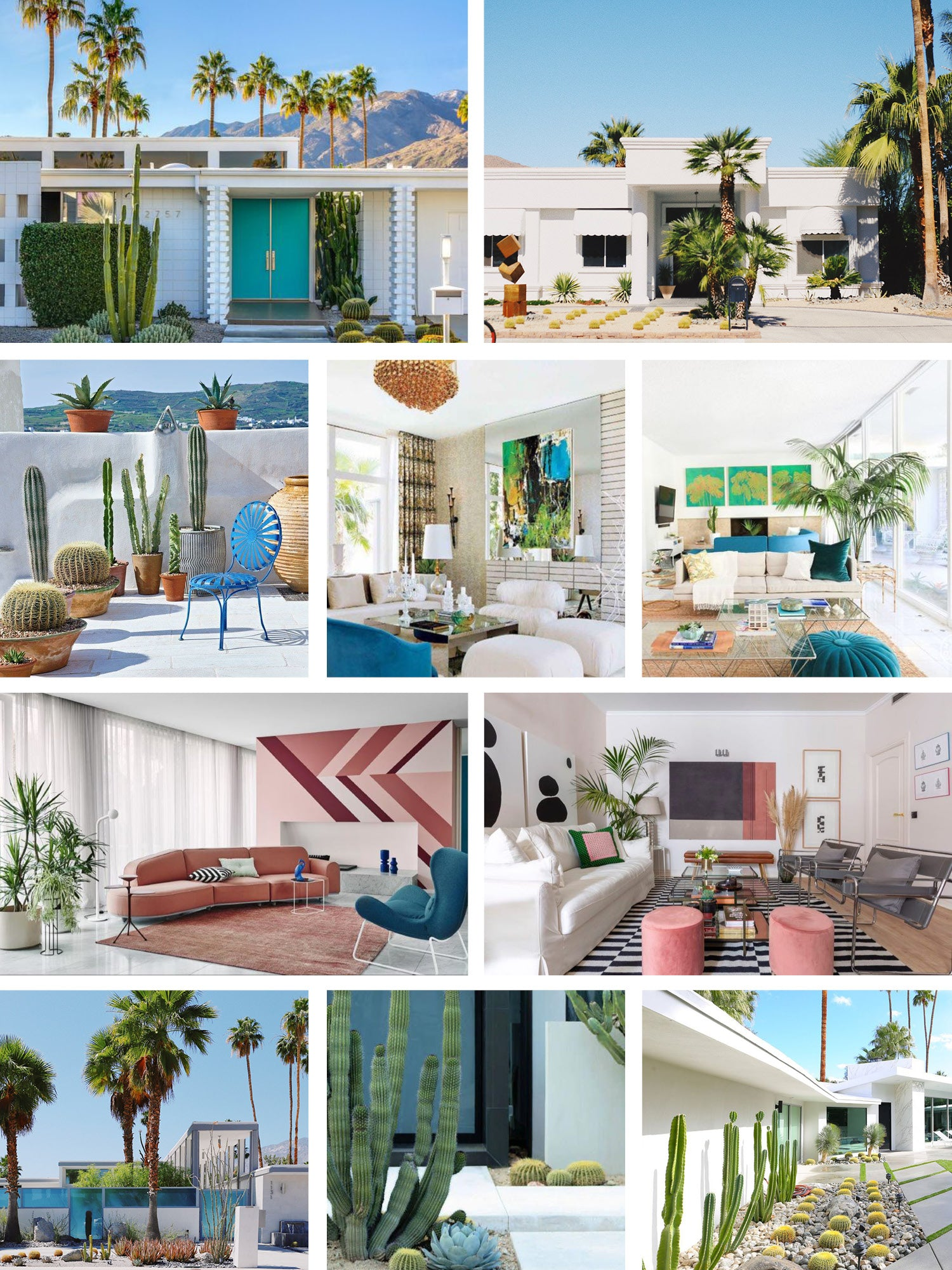 L'oasis Palm Springs | Inspiration décoration | Meuble Luxe design