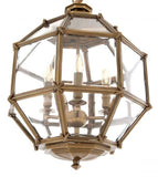 BRASS INDUSTRIAL CHANDELIER - S | EICHHOLTZ OWEN | OROA Luxury Lighting