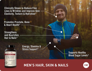 Men's Multivitamin with Hair, Skin & Nails Support