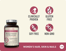 Women's Multivitamin with Hair, Skin & Nails Support