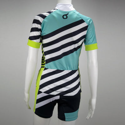 Female Cycling Jersey Short Sleeve Back Mannequin Coronado
