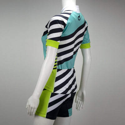 Female Cycling Jersey Short Sleeve Side Mannequin Coronado