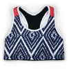 Female Sports Bra Support Aztec Front