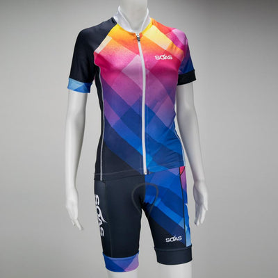 Female Cycling Bib Uptown Front Mannequin