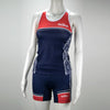 Female Triathlon Tank Support Aztec Mannequin Front