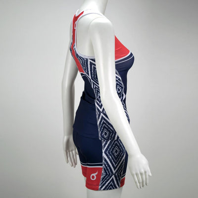 Female Triathlon Short Aztec Mannequin Side