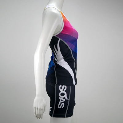 Female Triathlon Tri Tank Uptown Side Mannequin