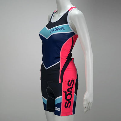 Female Triathlon Tank Bra Support Side Mannequin Boulevard