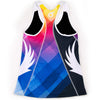 Female Triathlon Tri Tank Uptown Back