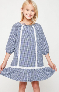 Girls/Tween Gingham Dress