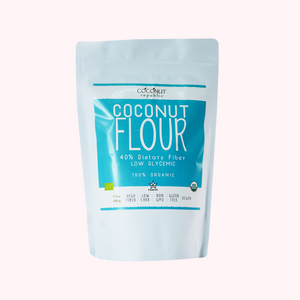 Coconut Republic® Organic Flour 500g. Made in the Philippines.