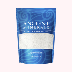 Ancient Minerals Magnesium Bath Flakes 8lb