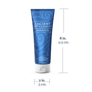 Ancient Minerals Magnesium Gel Plus 8oz Size Specification