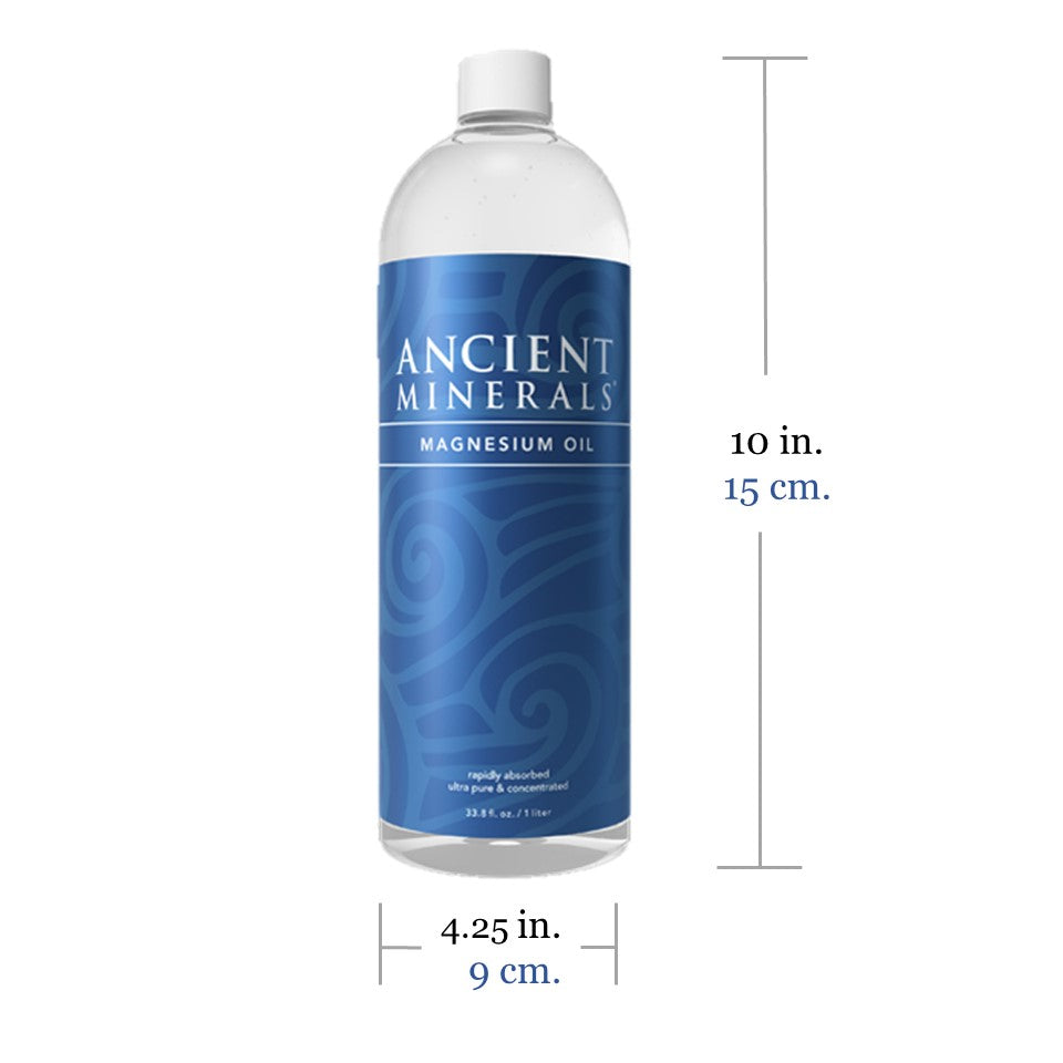 Ancient Minerals Magnesium Oil 1L Size Specification