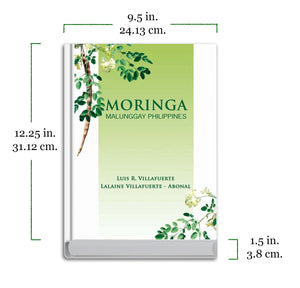 COCONUT Philippines and Moringa (Malunggay Philippines) Book Set of 2