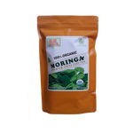 Regular Loose Leaf Moringa Tea 142 g in ORANGE Pouch by GreenEarth