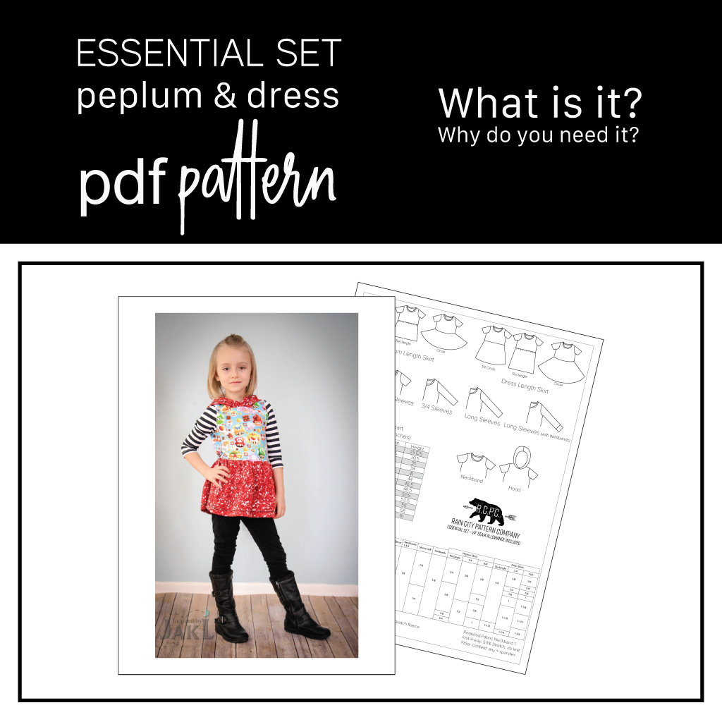Essential Set | Learn About The Pattern with 6 Skirts