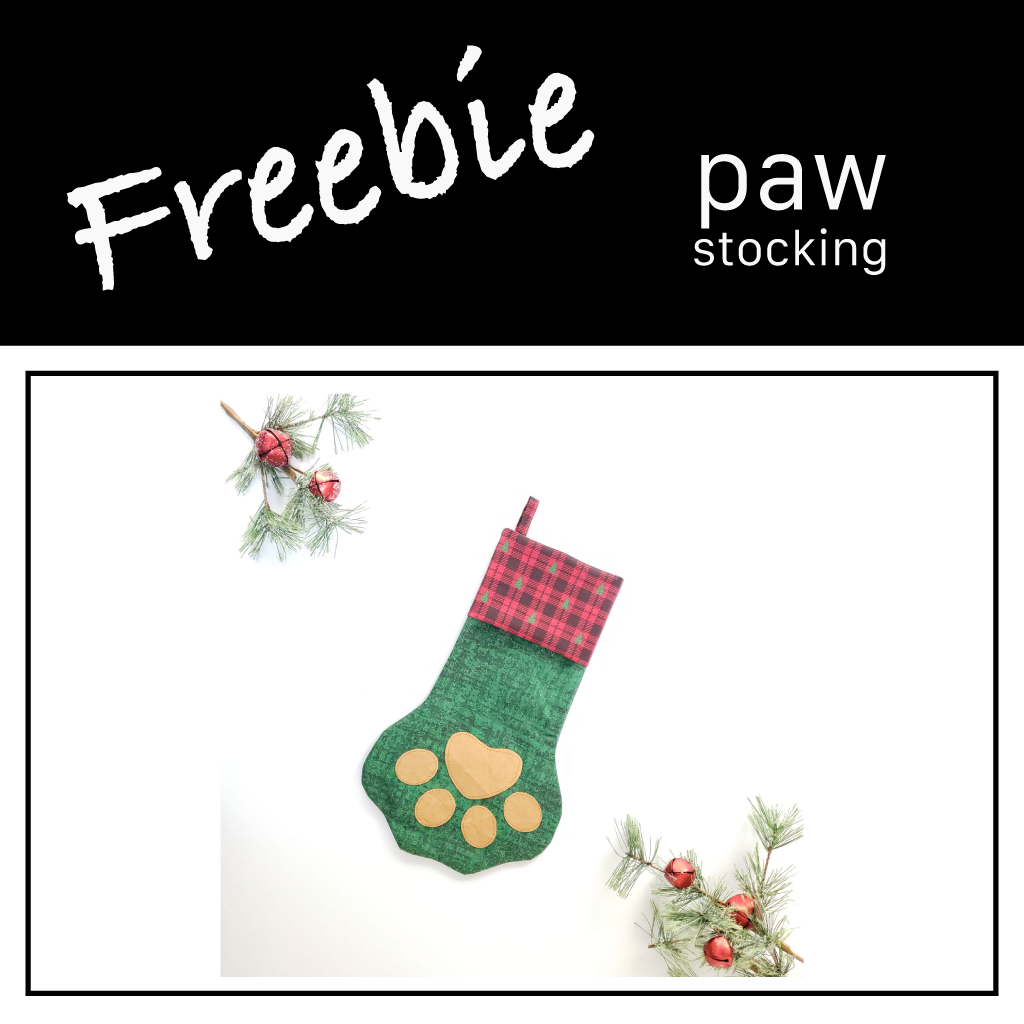 Freebie | Paw-rific Stocking