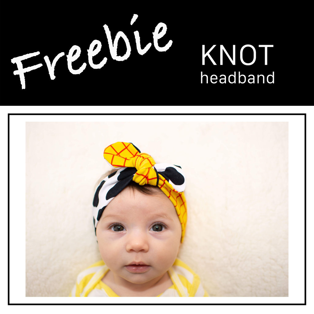 Freebie | Knot Headband
