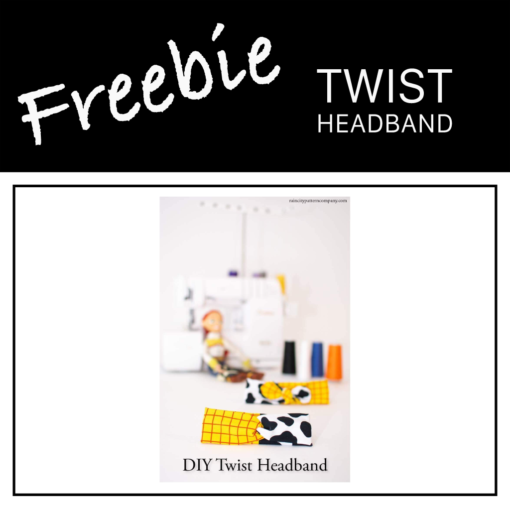 Freebie | Twist Headband