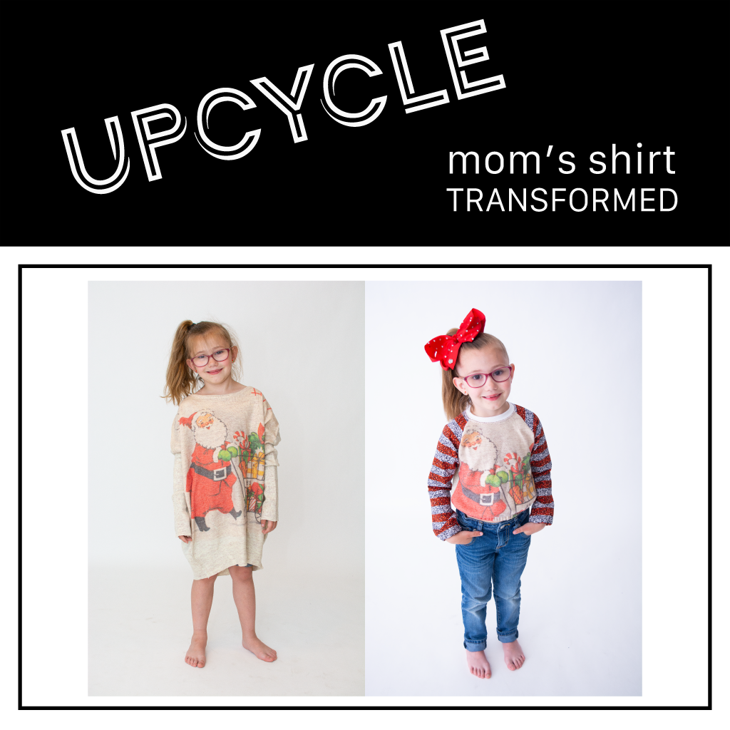 Upcycle | Adult Shirt to Kid Raglan