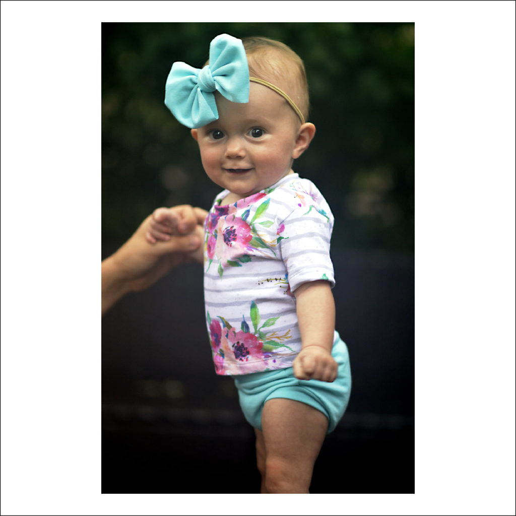 Blakely Bummies + Tee | Newborn to Preschool Sizes NB - 4