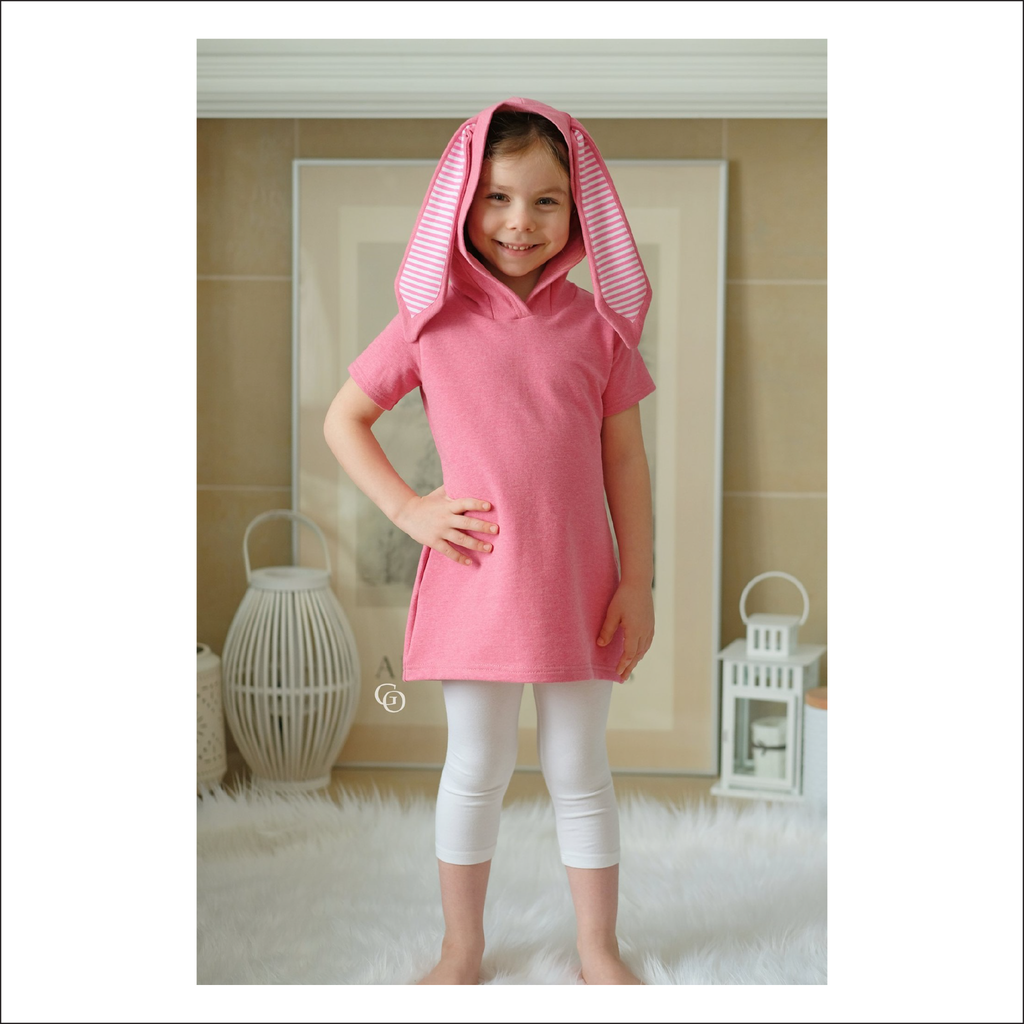 Blissey Tunic and Top | Baby to Big Kid Sizes 12M - 14 | Beginner Level Sewing Pattern