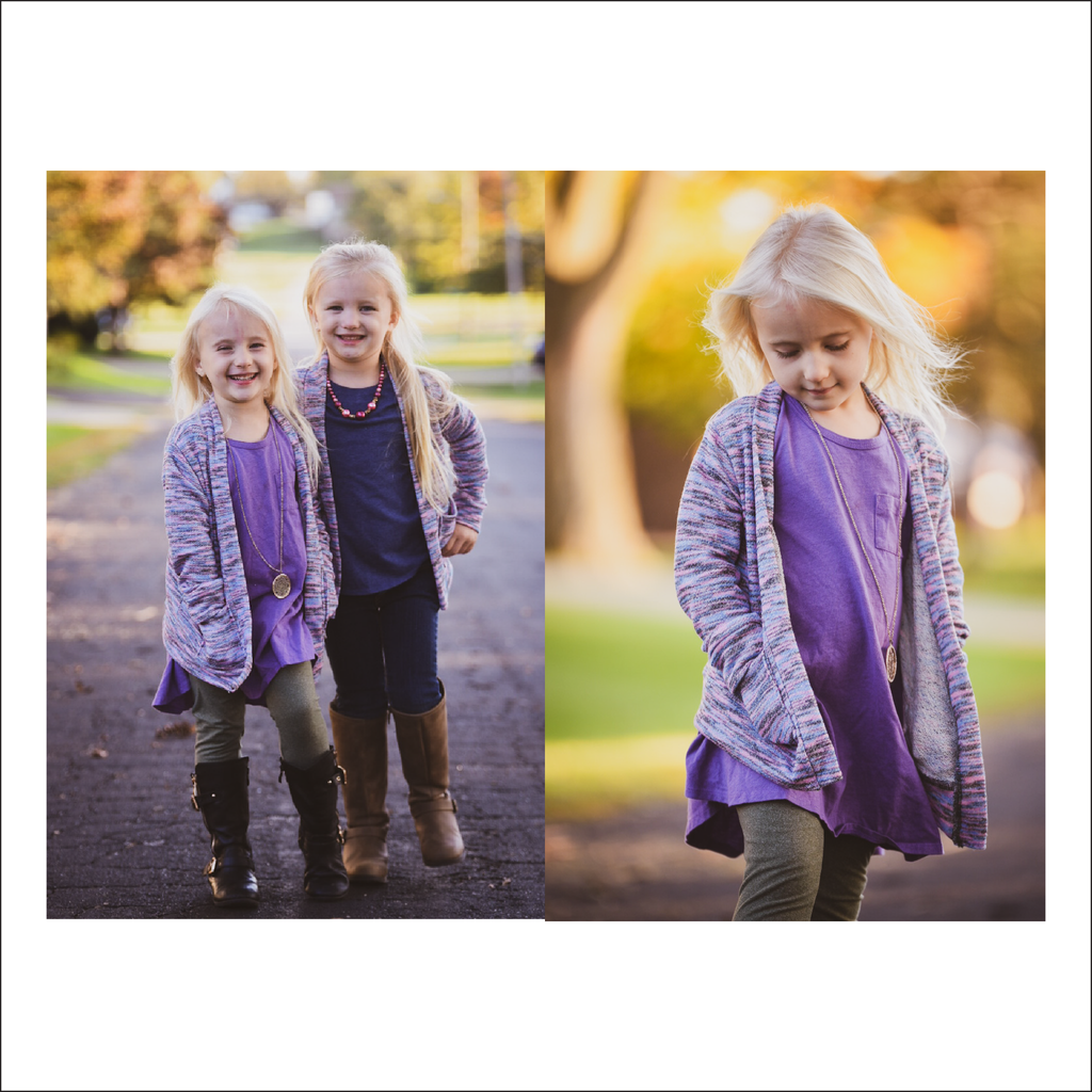 BUNDLE Clear Creek Cardigan | Adult Sizes S1 - L3 | Baby - Big Kid Sizes NB - 18 | Beginner Level Sewing Pattern