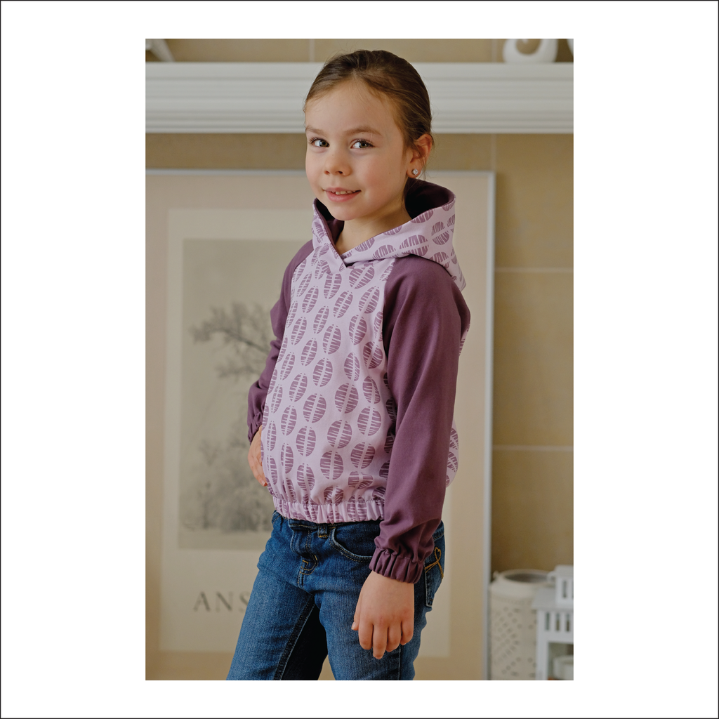 Pearson Pullover | Child Sizes 12M-14 | Beginner Level Sewing Pattern
