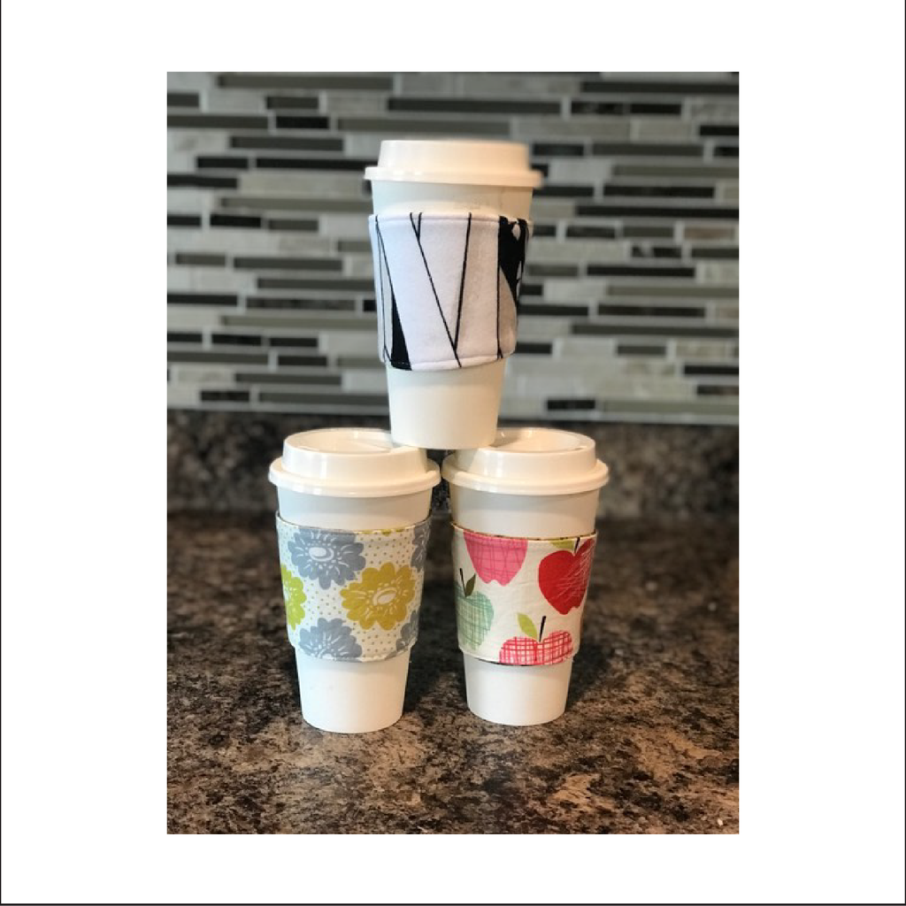 Captain Cup Sleeve PDF Sewing Pattern | Disposable Cup Size 12oz. and 16oz