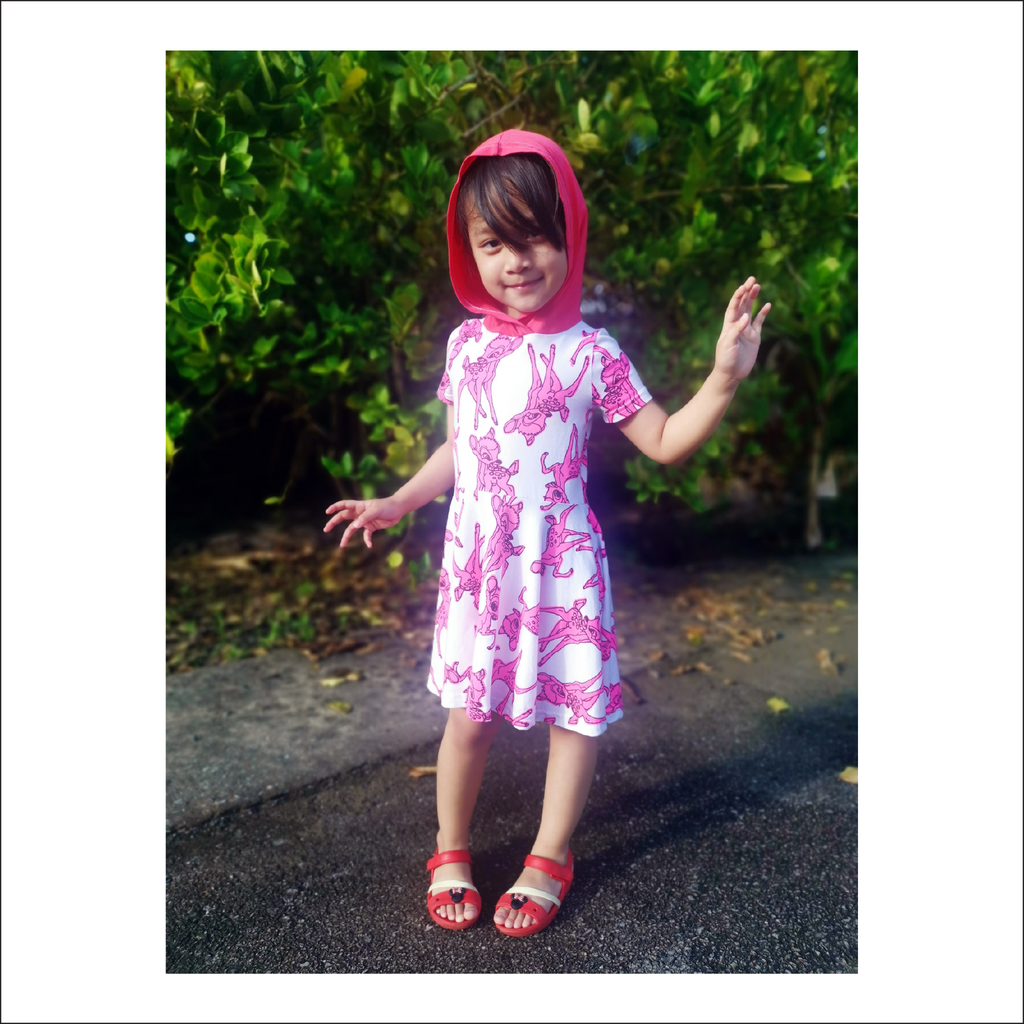 Essential Set Dress and Peplum Pattern | Child Size 12M-14 | Beginner Level Sewing Pattern