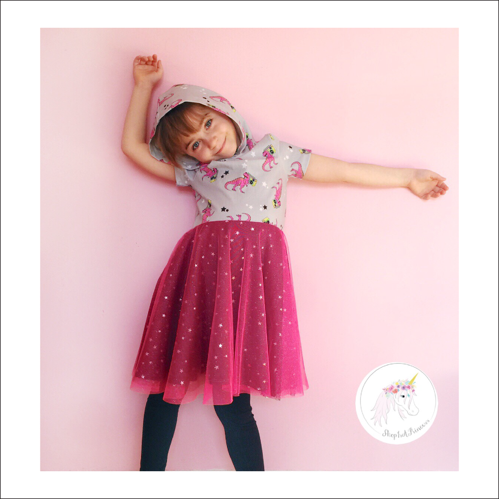 Essential Set Dress and Peplum Pattern | Child Size 12M-14
