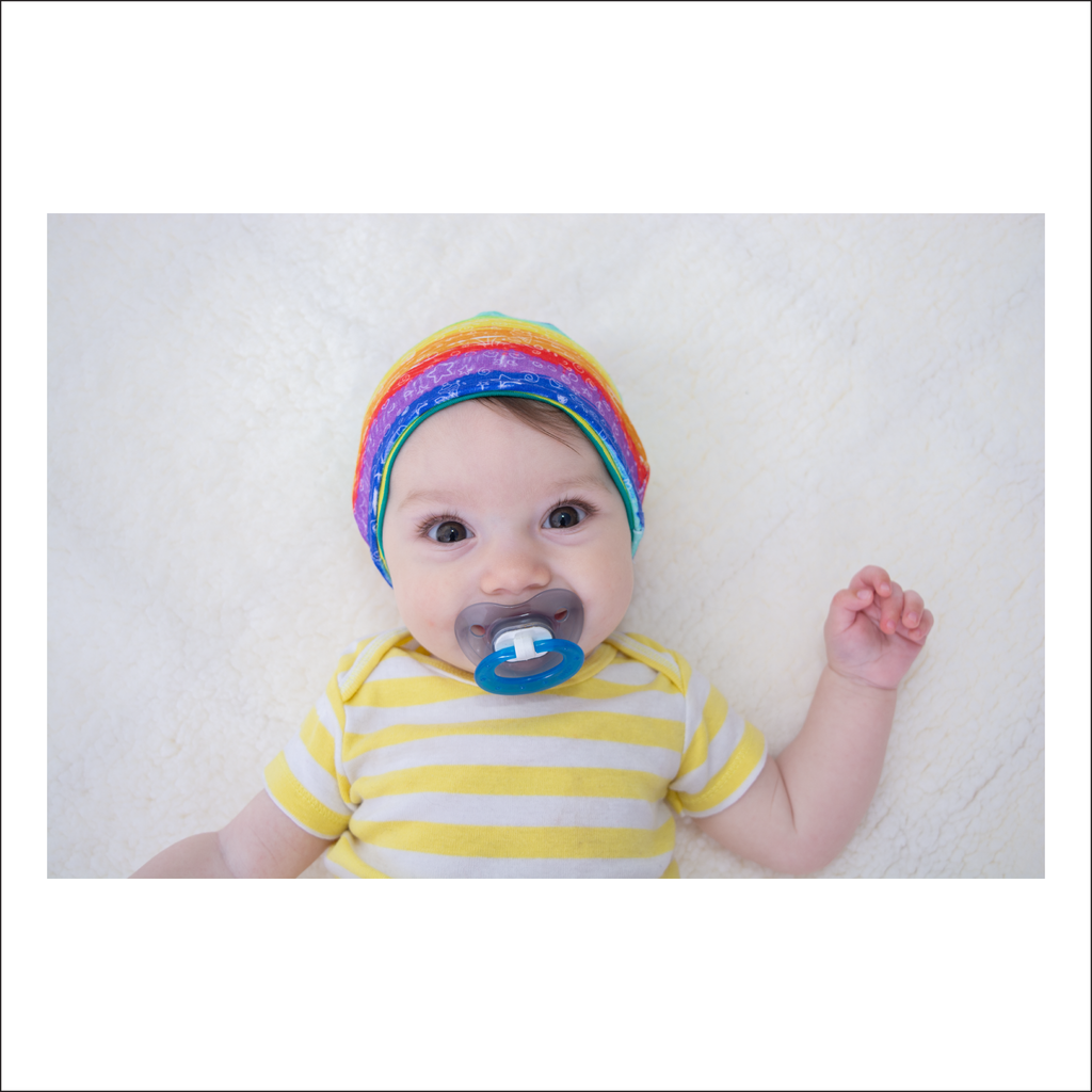 Baby Beanie PDF Sewing Pattern | Infant Sizes 0-12M (Pattern Pieces Only)