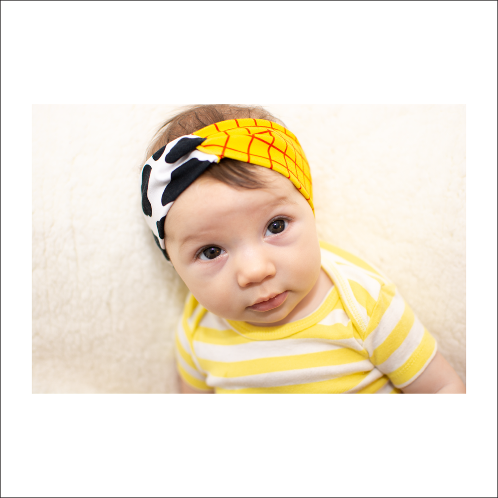 Charlotte's Knot and Twist Headband | Baby to Adult Sizes (Pattern Pieces Only)