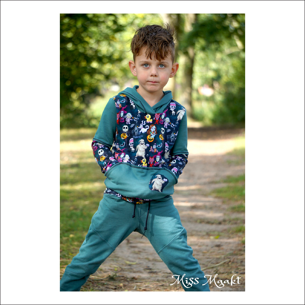 Hoodsport Color Block Hoodie | Baby to Big Kid Sizes 6M - 14