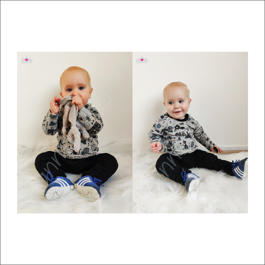 Roxy Raglan |  Baby to Preschool Sizes NB - 4