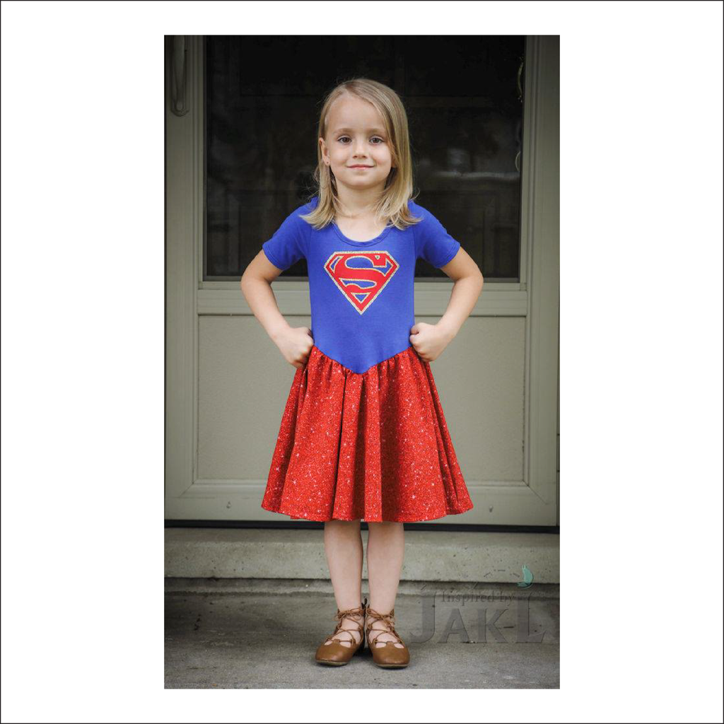 Never Never Land Dress | Child Sizes 2T-10