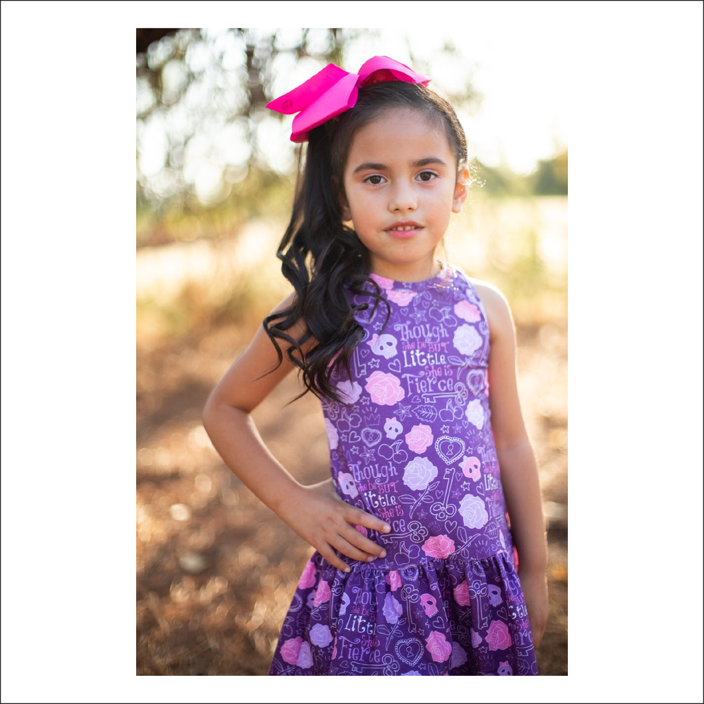 Olalla Drop Waist Summer Dress | Baby to Big Kid Sizes 3M - 14