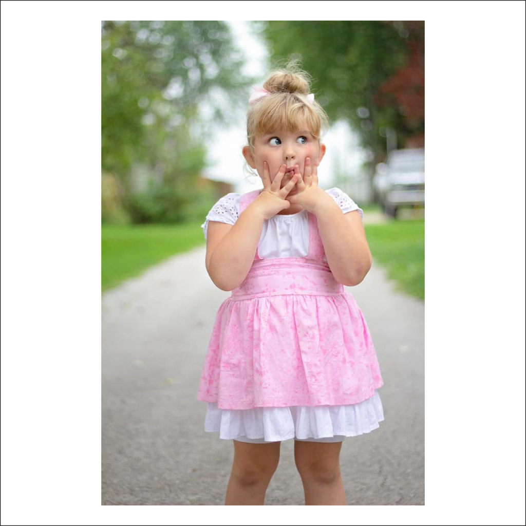 Vintage Lace Jumper Skirt | Child Sizes 12M-14