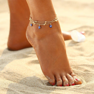 Eyes Beads Anklets For Women